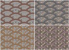 A textura de pavimentos Fotografia de Stock Royalty Free