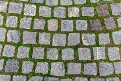 A textura de pavimentos da forma quadrada fotografia de stock royalty free