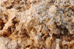 Textura de pedra da calcite - fundo fotografia de stock