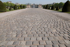Textura de pedra da estrada Imagem de Stock Royalty Free
