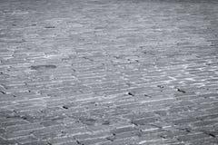 Textura de pedra da estrada imagens de stock