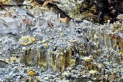 Textura de pedra da montanha fotografia de stock royalty free