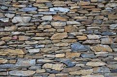 Textura de pedra da parede de tijolo da telha Imagens de Stock