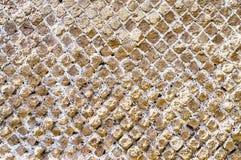 A textura de pedra da parede de tijolo, pode usar-se como o fundo Foto de Stock
