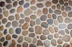 Textura de pedra da rocha da parede Imagens de Stock