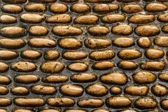 Textura de pedra de Brown Foto de Stock