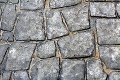 Textura de pedra do assoalho ou da parede da caminhada Fotos de Stock