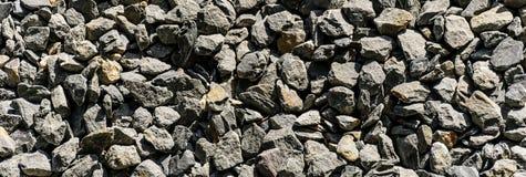 Textura de pedra do cascalho Imagem de Stock
