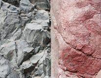 Textura de pedra do fundo da rocha Fotos de Stock