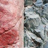 Textura de pedra do fundo da rocha Imagem de Stock