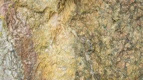 Textura de pedra do fundo do detalhe da camada da natureza Fotografia de Stock