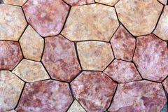 Textura de pedra do passeio foto de stock