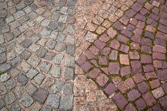 Textura de pedra do pavimento Foto de Stock Royalty Free
