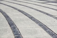 Textura de pedra do pavimento Fundo apedrejado godo do pavimento do granito Fundo abstrato do pavimento velho da pedra foto de stock royalty free