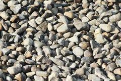 Textura de pedra do rio como o fundo Imagens de Stock