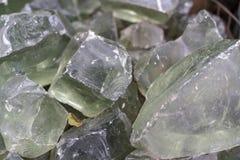 Textura de pedra mineral translúcida do fundo fotos de stock royalty free