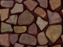 Textura de pedra sem emenda do vetor Fotografia de Stock