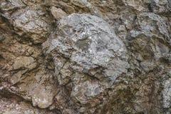Textura de pedra sem emenda Texturas e testes padrões dos pedregulhos em nat Imagens de Stock
