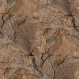 Textura de pedra sem emenda de Tileable com quebras Imagens de Stock Royalty Free