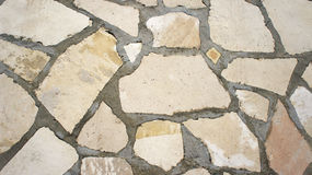 Textura de pedras naturais ásperas Fotos de Stock Royalty Free