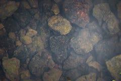 Textura de pedras naturais Fotografia de Stock Royalty Free