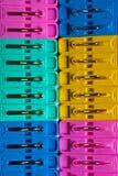 Textura de Pegs de pano Imagem de Stock Royalty Free