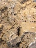 Textura de piedra amarilla Imagen de archivo