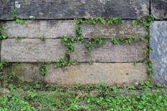 Textura de piedra apilada Fotos de archivo