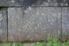 Textura de piedra apilada Foto de archivo libre de regalías