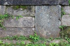 Textura de piedra apilada Imágenes de archivo libres de regalías