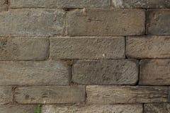 Textura de piedra apilada tallada mano Fotos de archivo libres de regalías