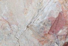 Textura de piedra blanca y roja Imagen de archivo