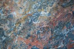 Textura de piedra colorida Fotos de archivo libres de regalías