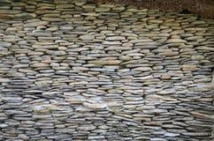 Textura de piedra de la casa Foto de archivo libre de regalías