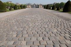 Textura de piedra del camino Imagen de archivo libre de regalías