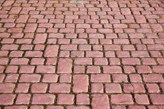 Textura de piedra del pavimento foto de archivo libre de regalías