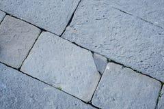 Textura de piedra del pavimento Fotos de archivo libres de regalías