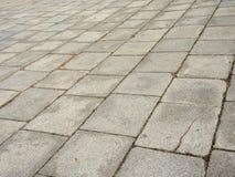 Textura de piedra del pavimento Foto de archivo