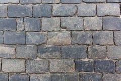 Textura de piedra del pavimento fotos de archivo