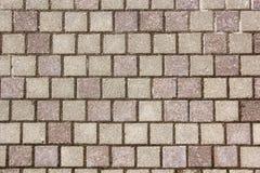 Textura de piedra del pavimento imagen de archivo