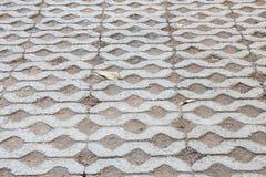 Textura de piedra del pavimento de camino de la calle del vintage Fotos de archivo