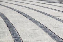 Textura de piedra del pavimento Fondo empedrado adoquín del pavimento del granito Fondo abstracto del pavimento viejo del guijarr Fotografía de archivo