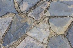Textura de piedra del piso de la pizarra Imagenes de archivo