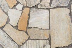 Textura de piedra del suelo foto de archivo libre de regalías