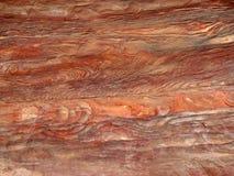 Textura de piedra en el Petra Imagenes de archivo