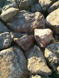 Textura de piedra grande Imagen de archivo