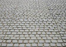 Textura de piedra de la calle del adoquín Fotografía de archivo libre de regalías