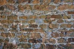 Textura de piedra natural de la pared de ladrillo para el fondo Imagen de archivo libre de regalías