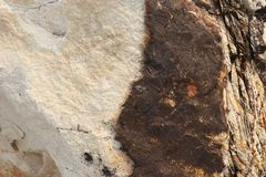 Textura de piedra de Ryolite - fondo foto de archivo libre de regalías
