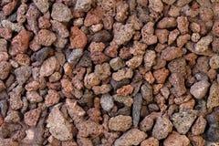 Textura de piedras volcánicas de la lava fotografía de archivo libre de regalías